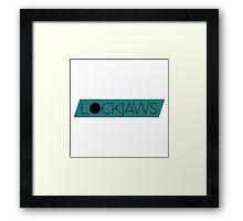 "Lockjaws - ""Puzzle Pieces"" [Series I - Design III] Framed Print"