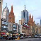 Flinders Street Melbourne by AusDisciple