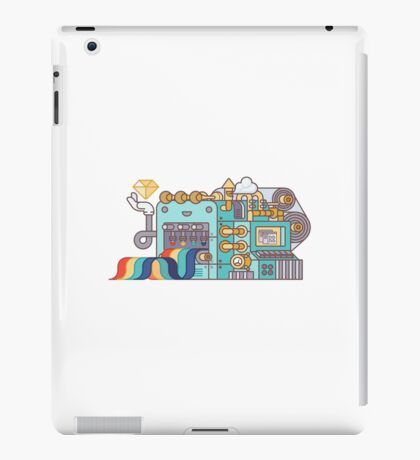 Rainbow Factory iPad Case/Skin