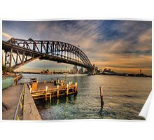 Point Perspective - Milsons Point, Sydney - The HDR Experience Poster