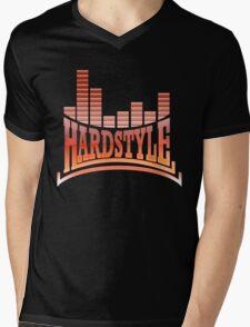 Hardstyle T-Shirt - Red Mens V-Neck T-Shirt
