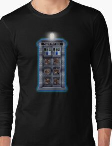 Time and Space travel Steampunk machine Long Sleeve T-Shirt