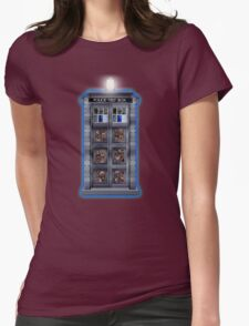 Time and Space travel Steampunk machine Womens Fitted T-Shirt