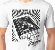 Low is my Religion Holy Bible Unisex T-Shirt