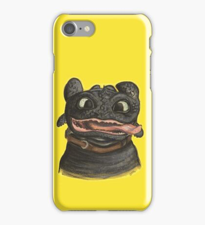Goofy Toothless iPhone Case/Skin