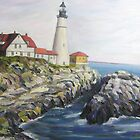 Portland Head Lighthouse, Maine by Richard Nowak