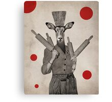 Anthropomorphic N°5 Canvas Print