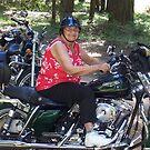 Biker Grandma by NancyC