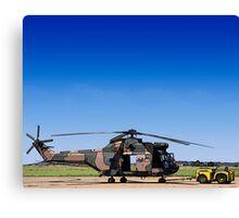 Aerospatiale SA-330H Puma Helicopter Canvas Print