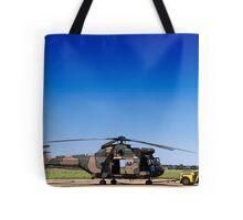 Aerospatiale SA-330H Puma Helicopter Tote Bag