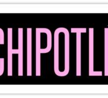 Chipotle X Beyonce Sticker
