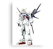 Star Build Strike Gundam Build Fighters Canvas Print