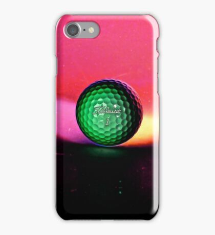 Golfball from Space  iPhone Case/Skin