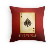 As Spade Throw Pillow