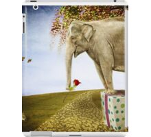 Good things don't always come in small packages iPad Case/Skin