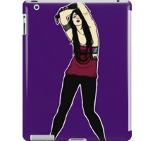 Punk Rock chick iPad Case/Skin