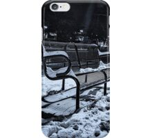 Lonely Park Bench iPhone Case/Skin