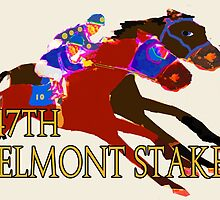 Belmont Stakes 2015 by Ginny Luttrell