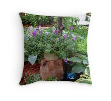 Potted Throw Pillow