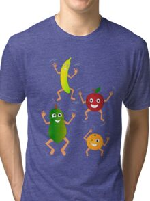 Happy Fruit Tri-blend T-Shirt