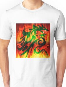 DRAGON IN FLAME Unisex T-Shirt