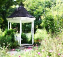 The Gazebo by Kay  G Larsen