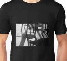 Chairs and shadows Unisex T-Shirt