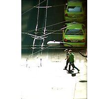 Cross Walk Photographic Print