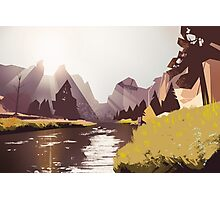 Crooked River Photographic Print