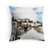 Shanty Style Throw Pillow
