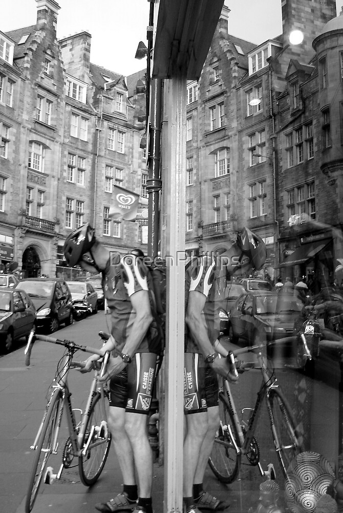 The Cyclist.... by DoreenPhillips