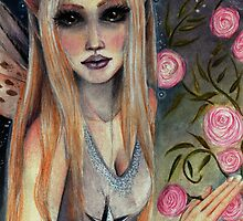 Audrey The Rose Faerie by KimTurner