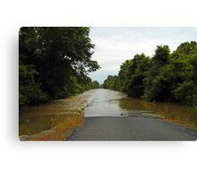 More Flood Canvas Print