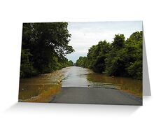 More Flood Greeting Card