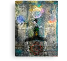 Balancing The Chakras Metal Print