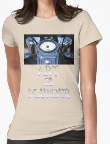 Motorcycle 1 Womens Fitted T-Shirt