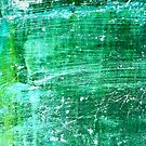 Green Abstract Boat Design by Barbara Ingersoll