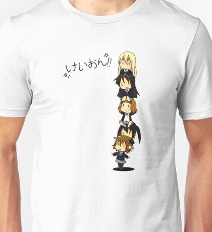K-on Totem Pole Unisex T-Shirt