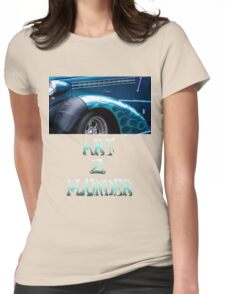 Classics 2-Teal Womens Fitted T-Shirt