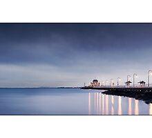 St Kilda Pier by Kirk  Hille