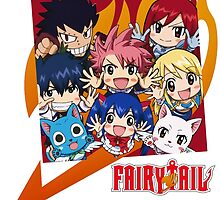 Fairy Tail Nakama !  by Kaytwo