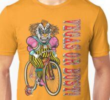 Evil Clown T Shirt Vegas or Bust Unisex T-Shirt