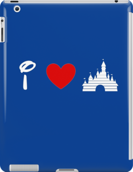 I Heart Sleeping Beauty (Classic Logo) (Inverted) by ShopGirl91706