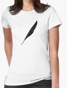 Riftwing's Feather Quill Womens Fitted T-Shirt