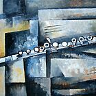 Still-Life with Flute. by Bill Proctor
