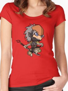 Chibi Raiden Women's Fitted Scoop T-Shirt