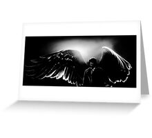 Lonely Castiel Greeting Card