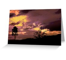 Portugal Vacation 2009 sunset (serie III)!...  Greeting Card