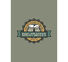 WoW Brand - Brewmaster Monk Photographic Print