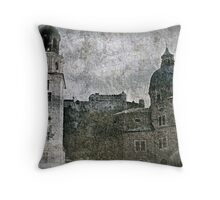 Faded Memories-Salzburg Throw Pillow
